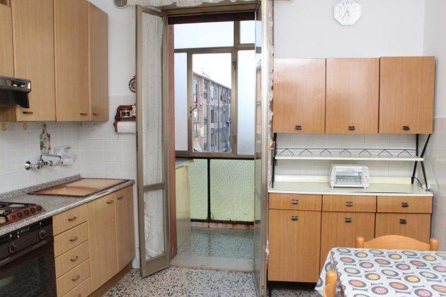 cucina di un appartamento in vendita a pescara in via cesano