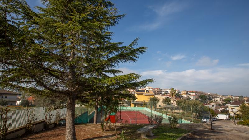 Campo tennis calcetto